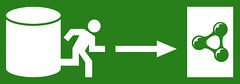 Emergency Exit: Semantic Web (White on Green, Hi-Res)