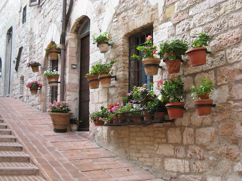 Assisi: Sunny day