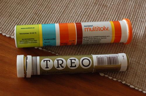 ビタミン剤と頭痛薬