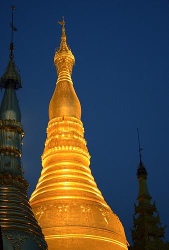 The Majestic Shwedagon Paya, Burma