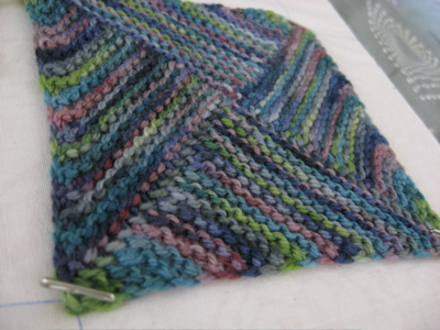 leftover blanket - single square
