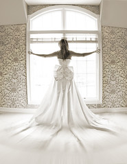 (mylaphotography) Tags: wedding wallpaper texture window bride fisheye weddingdress bridal mydress mylaphotography