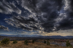 An Overpowering Sky (iceman9294) Tags: sunset sky clouds nikon colorado coloradosprings frontrange hdr chriscoleman d300 infinestyle iceman9294