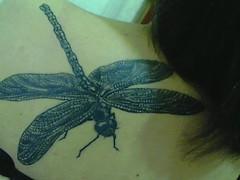 tattoo escher (magali_incubus) Tags: tattoo escher liblula