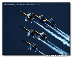 Blue Angels @ Joint Service Open House 2006 (Nikographer [Jon]) Tags: md andrews force air maryland 2006 airshow boeing airforce blueangels base usairforce fa18 fa18hornet jsoh andrewsairforcebase jointserviceopenhouse jointserviceopenhouse2006 f404ge400 northropcorporation 20060520d2009066