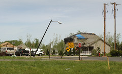 Tornado damage in Hugo, MN/05-25-2008