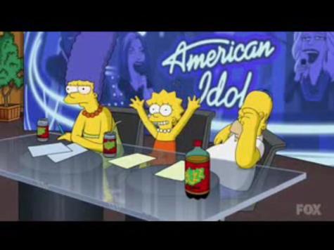 Simpson's American Idol Parody