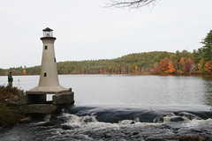 2008_10_13_brookline-nh_17 (dsearls) Tags: lighthouse brookline brooklinenh potanipo nissitissit nissitissitriver 20081013 potanipopond