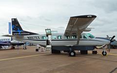 N867EX Cessna 208 Caravan (SteveDHall) Tags: aircraft airport aviation airfield aerodrome aeroplane airplane airshow turboprop 2016 riat royalinternationalairtattoo raffairford fairford riat2016 n867ex c208 cessna208caravan cessna c208caravan cessna208 caravan l3communications specialmissions