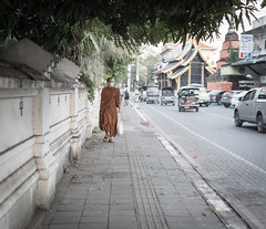 19012017-586A6470-2 (LIL Scarab) Tags: thailand chiangmai north streetphotography monk street canon eos ff 24x36 traffic tamron sp45mmf18divcusd prime lens traveler picoftheday travel flickraddict canonaddict polution tamronprime 45mm 5dmarkiv 5d iso100