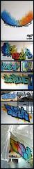 Dans BEPLUS il y a BLEU... (Chrixcel) Tags: collage graffiti factory tag urbanexploration be lf wasteland manufacture urbex abandonné abandonedplace abandonnée fricheindustrielle lafirme beplus lafirm elaife