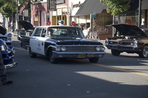 Officer Holstein was on hand. In fact, one of the yearly highlights is the recreation of the Cop Car Prank.