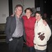Kristen with Paul Rapp and Arlene Levinson on opening night of 'A WAM Welcome'