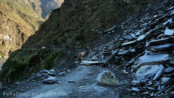 Bharmour Massive Landslide