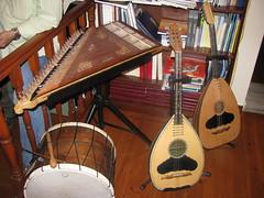 Harmonic Tradition: Laoud, Kanun, Daouli (eltoro80) Tags: museum folk instrument tambor kanun santouri κανονακι laoud kanonaki daouli laouto παραδοσιακά ntaouli οργανα μουσικα λαουτο santuur σαντουρι νταουλι