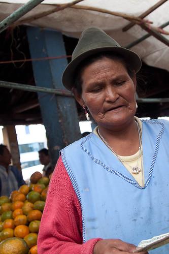 Market in Pujilí
