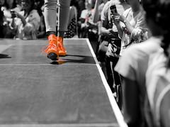 catwalk (nzfisher) Tags: red newzealand fashion walking shoe model style auckland highstreet catwalk