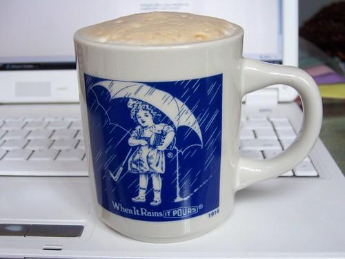vintage morton salt cup