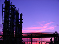 ductos pmx (thomsalram) Tags: atardecer industrial gas contraste pemex