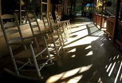Rock-a-Bye (Blue Yonder) Tags: frontporch rockingchairsporch