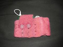 Handspun Handknit iPod Cosy