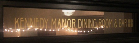 Kennedy Manor sign