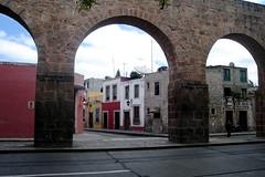 Aqueduct in Morelia