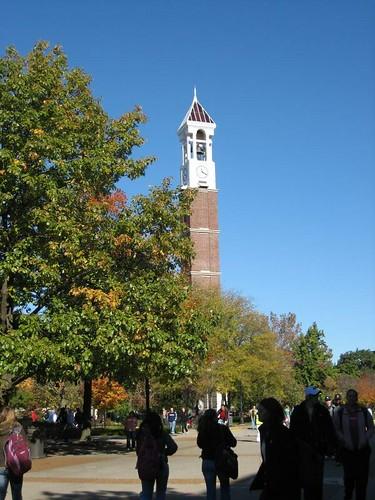 Purdue campus · Fall colors