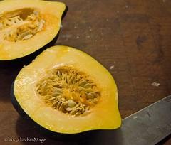 acorn squash halves