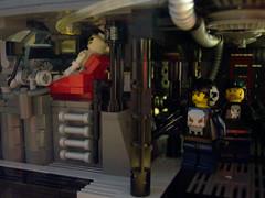 Aliens inspired spaceship interior (M.R. Yoder) Tags: toy lego alien hobby aliens plastic scifi corp diorama moc weyland yutani