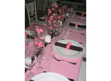 1990839239 2c9e730c4a o d Baú de ideias: Decoração de casamento rosa e marrom I