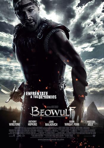 Póster español y un viejo trailer de 'Beowulf'