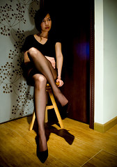 midnight *3 (skwrose) Tags: hot me highheels leg midnight sue pantyhose