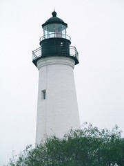 Lighthouse in Port Isabel, Texas (dog.happy.art) Tags: lighthouse texas portisabel neverbeenthere