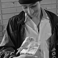 LOVE (Roozbeh Feiz) Tags: blackandwhite bw love canon blackwhite persian iran canon20d documentary persia instant iranian moment lovebird impromptu  socialdocumentary 2007 spontaneous instantphotography    roozbeh 1386 feiz spontaneousphotography handheldphotography roozbehfeiz nosetup withoutsetupphotography nosetupphotography iranianstyle persianstyle ~vista iranianphotographer iranianphotographers   feizaghaii     feizcom   wwwphotoblogcomvista