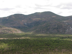 Cooktown Trip (Group 8) - Bob's Lookout on the Mulligan Highway Through the Great Diving Range  Mt Elephant (emblatame (Ron)) Tags: panorama landscape australia lookout hills queensland scrub greatdividingrange cooktowntrip mtelephant bobslookout mulliganhighway