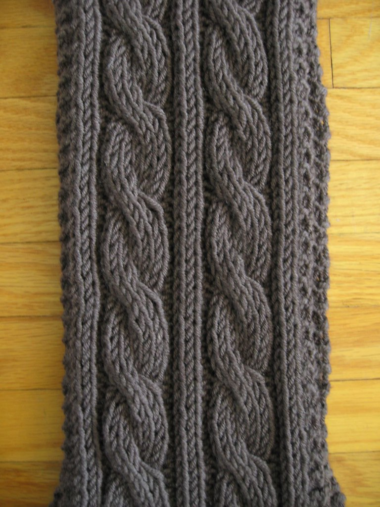 Jaeger cabled scarf_01
