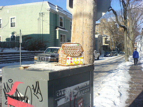 Found: Gingerbread House