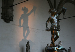 perseo luce e ombra (bruny!) Tags: shadow sculpture art statue florence ombra firenze loggia scultura doppio blueribbonwinner mywinners platinumphoto anawesomeshot superbmasterpiece diamondclassphotographer flickrdiamond