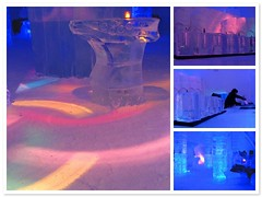 Ice discotheque