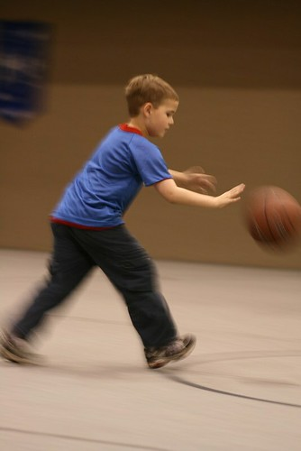 Dribbling In Motion