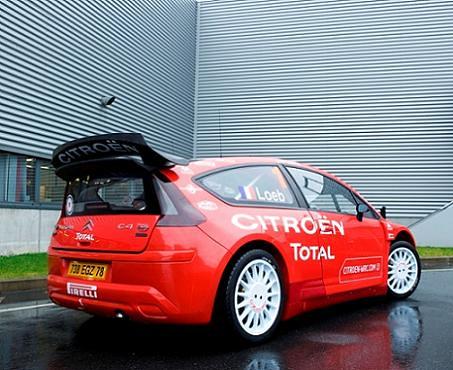 Citroen C4 Wrc. del Citroen C4 WRC,
