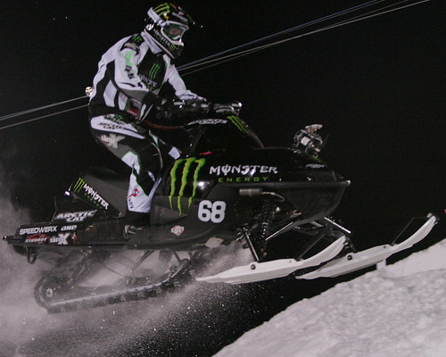 Snowmobile Snocross Final