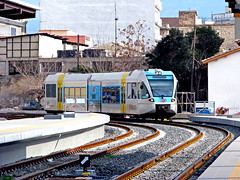 Stadler Railbus (Dimitris G.) Tags: station train hellas greece piraeus ose railbus  stadler