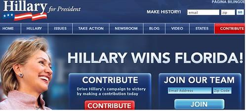hillary wins florida?