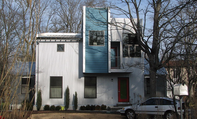 The Corrugated Metal House