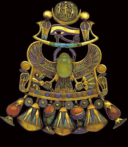 Ancient egyptians extravagant art