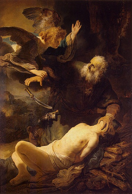 REMBRANDT Harmenszoon van Rijn Sacrifice of Isaac, 1635