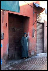 (Liv ) Tags: africa street travel blue light sunset red 2 people 3 man sahara tag3 night square photography 1 photo tag2 tag1 shot market minaret tag ivan hijab el mosque unesco morocco 09 maroc marocco marrakech souk medina afrika 2008 amateur marruecos viaggio occidentale 08 koutoubia afrique fna lazzari jemaa marocchino  djemaa laiv   nikond80 laivphoto  marrakechtensiftel haouz tannage marrki   313807n80001w316352788000278coordinate313807n80001w316352788000278