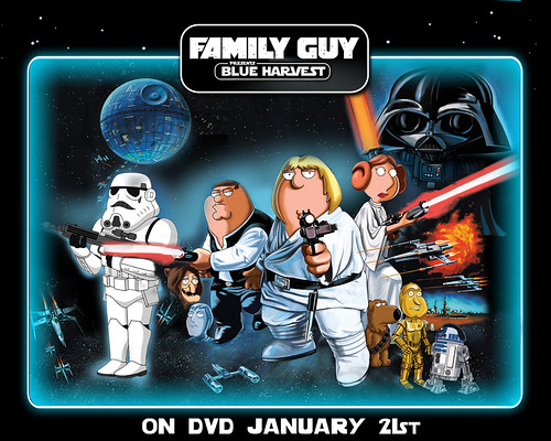 Family Guy Star Wars Wallpaper